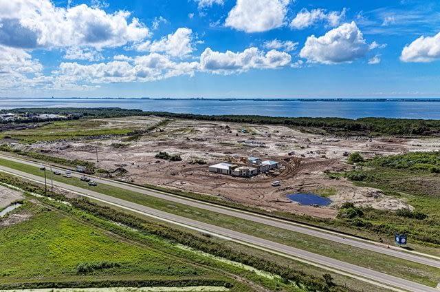 New Construction at Aqua